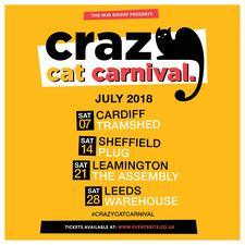 Crazy Cat Carnival logo