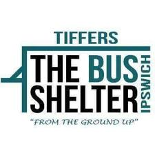 Tiffers The Bus Shelter Ipswich logo