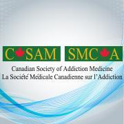 Canadian Society of Addiction Medicine (CSAM-SMCA) logo
