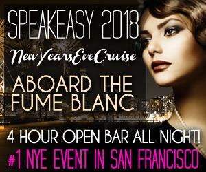Speakeasy San Francisco New Year's Eve Cruise 2019