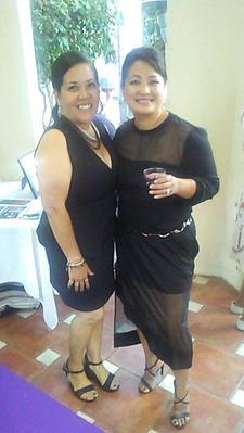 Hosted Karen Roque & Rosy Vasquez   logo