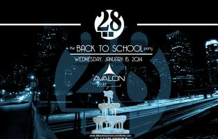 28 Entertainment Presents the Back to School Pre-Rush...