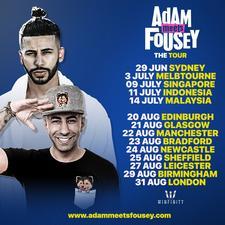 Adam Meets Fousey logo