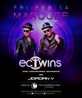 EC Twins at Marquee Nightclub