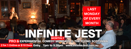 Infinite Jest Comedy Monthly Mondays