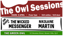 The Owl Sessions April 2018