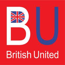 英倫海外升學中心 British United logo
