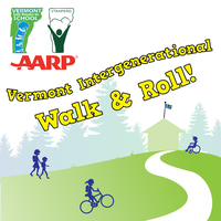Vermont Intergenerational Walk and Roll to School Day...