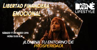 """Conferencia """"Ilumina tu entorno de prosperidad"""""""