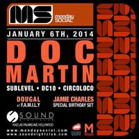 Monday Social at Sound DOC MARTIN ::FREE w/RSVP on the...