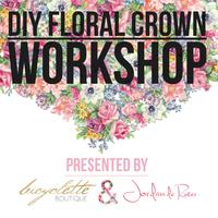 DIY Floral Crown Workshop: Hosted by Bicyclette...