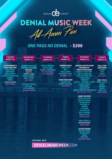Denial Events during Miami Music Week logo