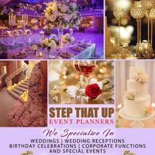 Step That Up Event Planners logo