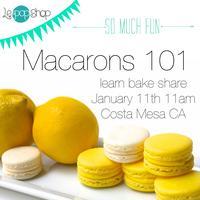 Macarons 101
