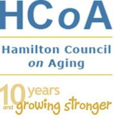 Hamilton Council on Aging (HCoA) logo