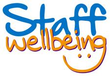 Staff Wellbeing @ NUH in association with Nottingham Hospitals Charity logo