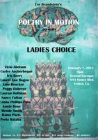Feb 1 - Eve Brandstein's Poetry in Motion: Ladies...