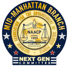 The Next GENeration Committee, NAACP Mid-Manhattan logo