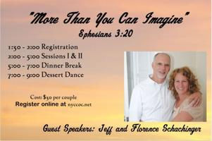 "LI Marriage Workshop: ""More Than You Can Imagine"""