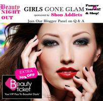 'Girls Gone Glam' Beauty Night Out
