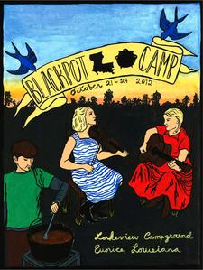Black Pot Camp logo