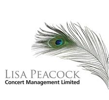Lisa Peacock Concert Management logo
