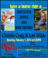 Christie Craig & Lori Wilde Dinner and Book Signing