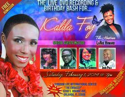 Live DVD Recording/Birthday Bash for Kalila Foy