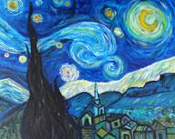 Starry Night - Color Me Mine 8-8-12