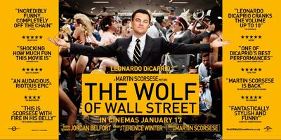 The Wolf of Wall Street logo