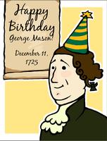 Happy Birthday, George Mason!