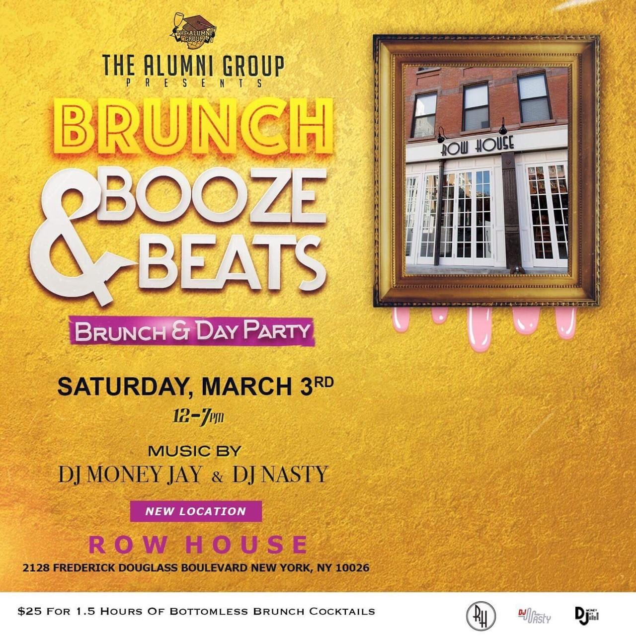 Brunch, Booze, & Beats: Brunch & Day Party