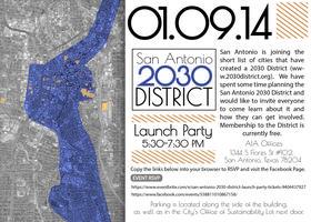 San Antonio 2030 District Launch Party