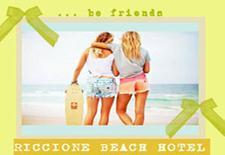 RICCIONE BEACH HOTEL logo