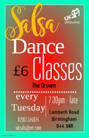 Beginner Salsa Classes Kingstanding Birmingham