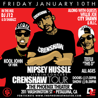 NIPSEY HUSSLE | KOOL JOHN | CITY SHAWN | WILLIE JOE...