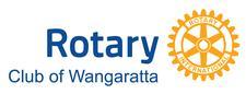 The Rotary Club of Wangaratta logo