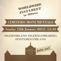 Worldwide instameet in Milano #instameetmilano