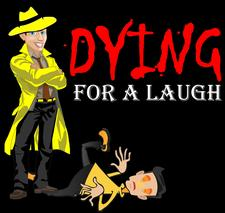 Dying For A Laugh logo