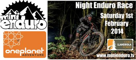 Mini Enduro Night Race Llandegla - 1st March 2014