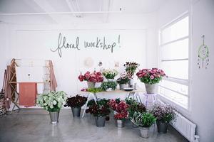 designlovefest + moon canyon design floral workshop...