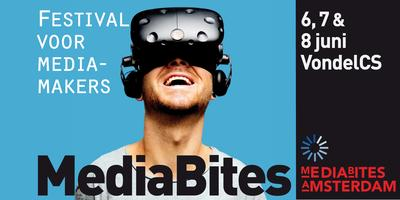 MediaBites Amsterdam, 6, 7 & 8 juni 2018 VondelCS