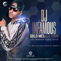 DJ Infamous This Friday at Status