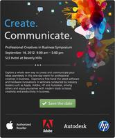 Create. Communicate. Creative Professionals in Business