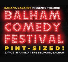 Balham Comedy Festival-Pint Sized logo