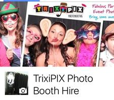 Trixipix Photo Booths & Events logo