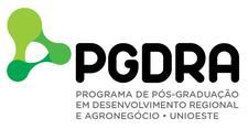 Programa de Pós-Graduação em Desenvolvimento Regional e Agronegócio logo