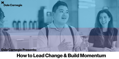 How to Lead Change and Build Momentum (Mississauga)