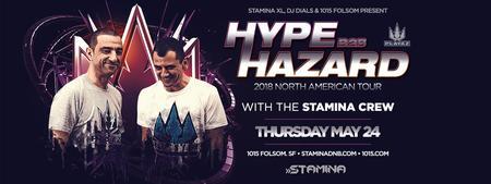 DJ HYPE B2B HAZARD at 1015 FOLSOM