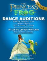 """Princess and the Frog"" Production - Open Call Dance..."